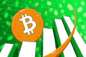 Bitcoin продолжил расти в цене