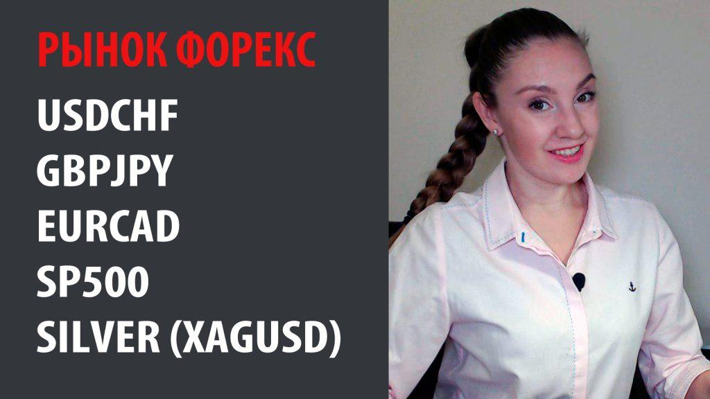 Рынок Форекс - 02.12.19 - 06.12.19 #USDCHF, #GBPJPY, #EURCAD, #SP500, #Silver (#XAGUSD)