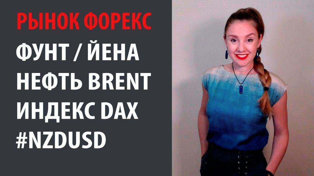 Рынок Форекс 08.06.20 - 12.06.20 Фунт Йена, Нефть Brent, Индекс DAX
